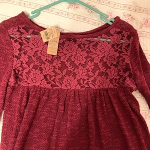 NWT American Eagle knit lightweight sweater